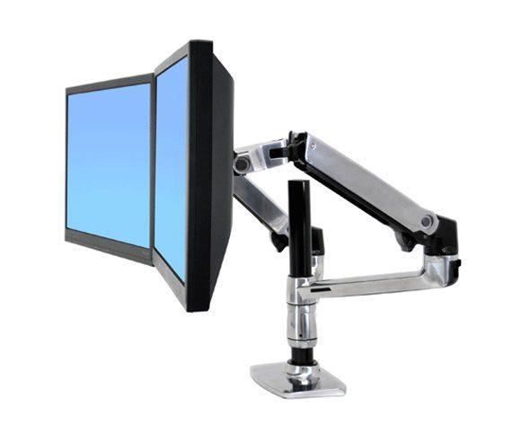 Ergotron Dual Side Desk Stand Lg Comware Pty Ltd More